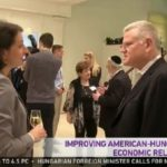"Improving American Hungarian economic relations The Hungarian M1 TV - Chanel, ""World-news"" mentioned the AmHunCham NY."